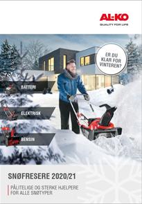 Katalog   Snøfresere 2021