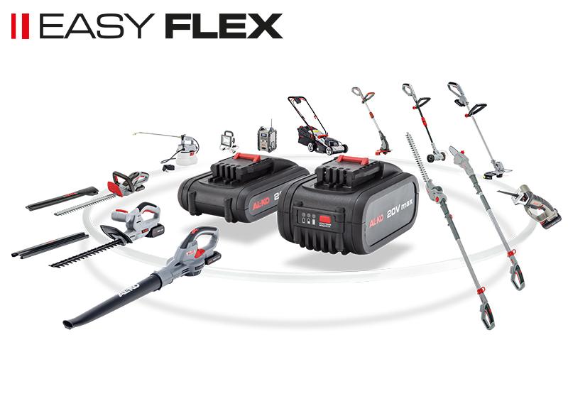 Batteridrevne hagemskiner | AL-KO Easy Flex serie
