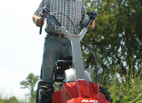AL-KO slåmaskine fordeler | ergonomisk grep