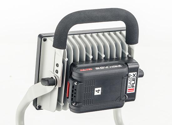 AL-KO byggeplassprodukter fordeler | Alltid mobil med Easy Flex-batteriet