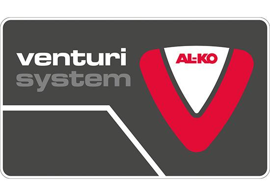 AL-KO Trykkpumper fordeler | Venturi system