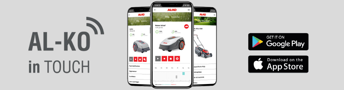 Smart Gardening | AL-KO inTouch App